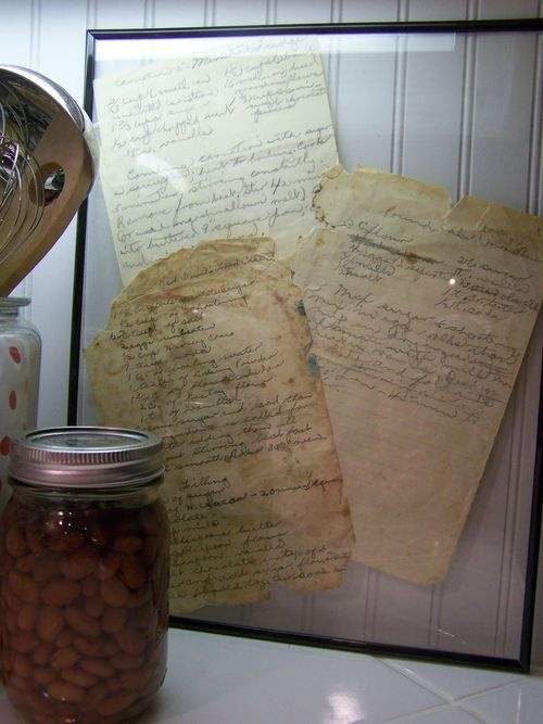 vintage recipes